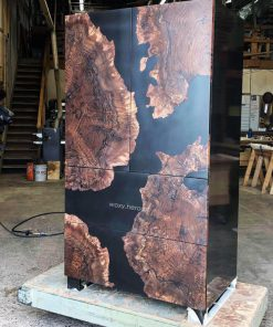tủ gỗ epoxy cao cấp