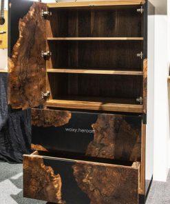 tủ gỗ epoxy